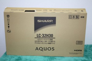 シャープ SHARP 32インチ ハイビジョン液晶テレビ AQUOS LC-32H30 2016年製 美品