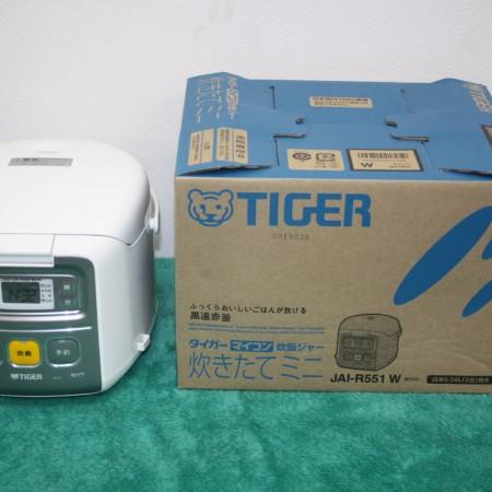 TIGER マイコン炊飯ジャー 3合炊き 炊きたてミニ JAI-R551 2019年製 買取り