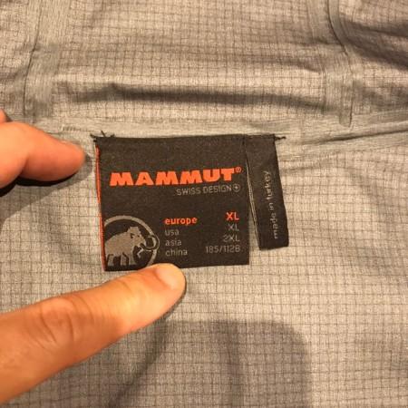 MAMMUT マウンテンジャケット Gore-Tex Pro 正規店購入 買取り