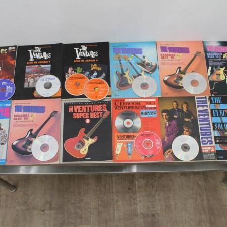 THE VENTURES 雑誌12冊 付録CD10枚セット 買取り