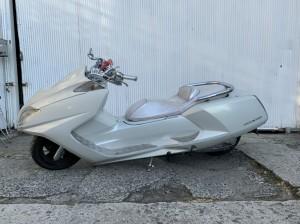 YAMAHA MAXAM BA-SG17J  250cc  ホワイト 買取り