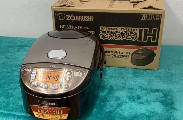 象印 IH炊飯器 極め炊き 5.5合 NP-VI10-TA 買取り